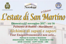 L'estate di San Martino – 12 Novembre 2017