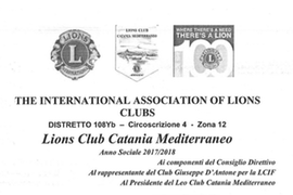 Sabato 4 Novembre – The International Association of Lions Clubs